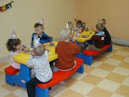 El inicio de las fiestas infantiles