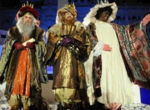 Las fiestas navideñas, las cabalgatas de reyes magos