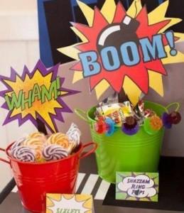 10 trucos para hacer la mejor fiesta de superhéroes.