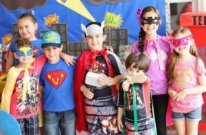 10 trucos para hacer la mejor fiesta de superheroes