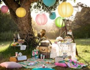 Ideas para fiestas al aire libre