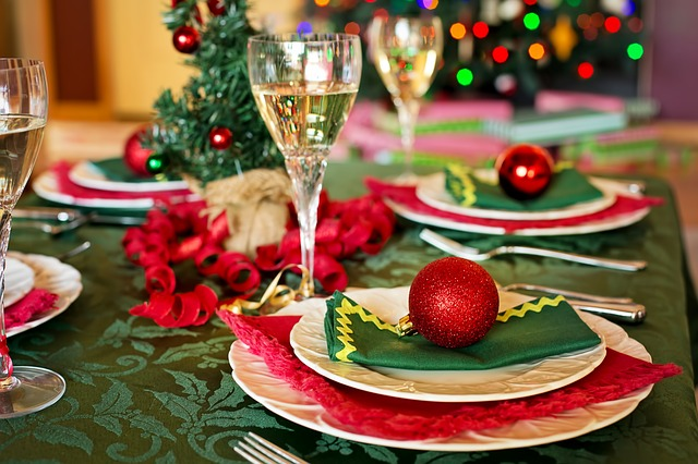 El menú en los consejos para tu fiesta infantil de Navidad