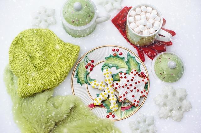 El menú en los consejos para tua fiestaa infantiles de Navidad