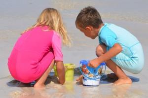 Cómo decorar una fiesta infantil en la playa