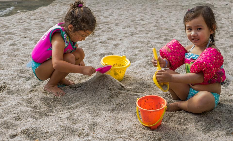 Cómo decorar una fiesta infantil en la playa - niñas