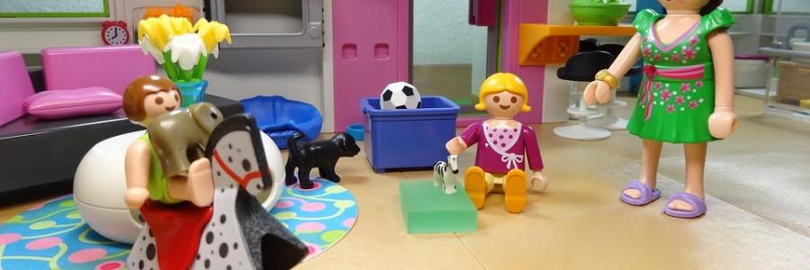 Juegos infantiles para espacios reducidos