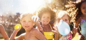 Juegos de niños al aire libre